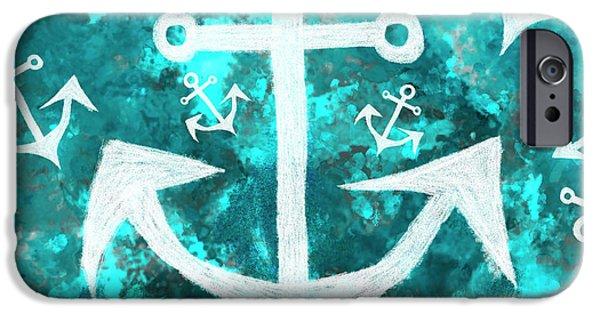 Maritime Anchor Art IPhone 6s Case
