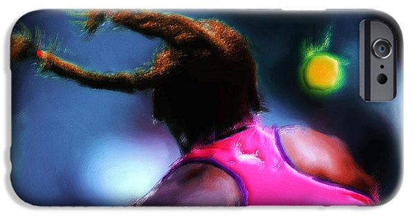 Venus Williams iPhone 6s Case - Match Point by Brian Reaves