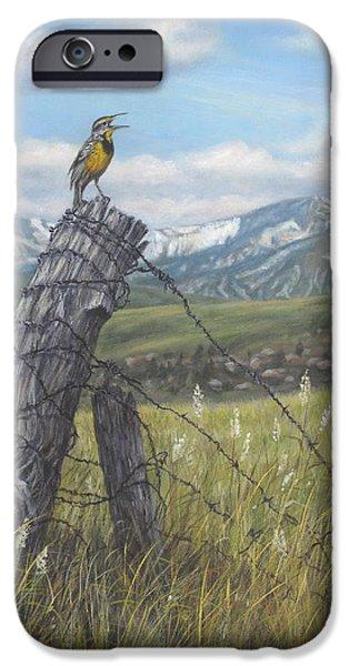 Meadowlark iPhone 6s Case - Meadowlark Serenade by Kim Lockman