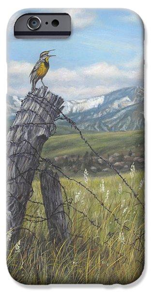 Meadowlark Serenade IPhone 6s Case by Kim Lockman