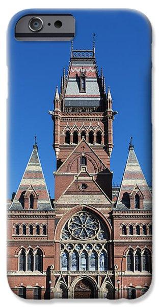 Harvard iPhone 6s Case - Memorial Hall Harvard by John Greim