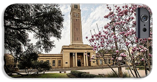 Memorial Tower IPhone Case by Scott Pellegrin