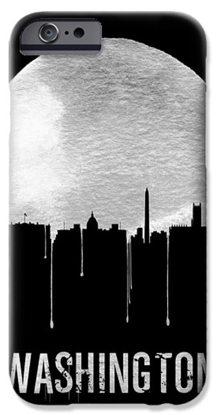 Memphis Skyline Black IPhone 6s Case by Naxart Studio