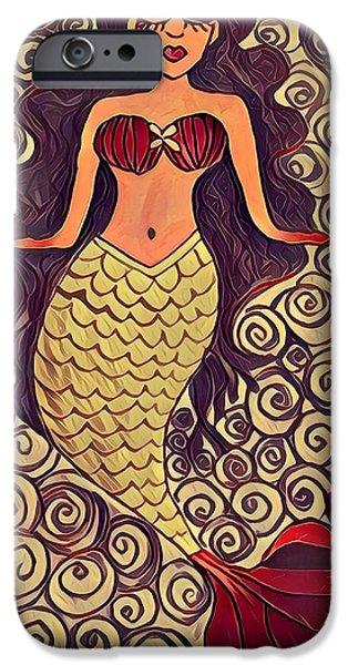 iPhone 6s Case - Mermaid Dreams by K Daniel
