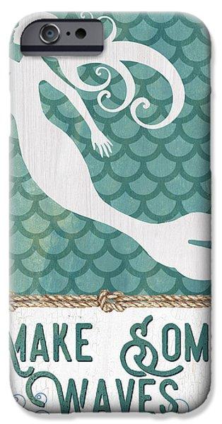 Mermaid Waves 1 IPhone 6s Case