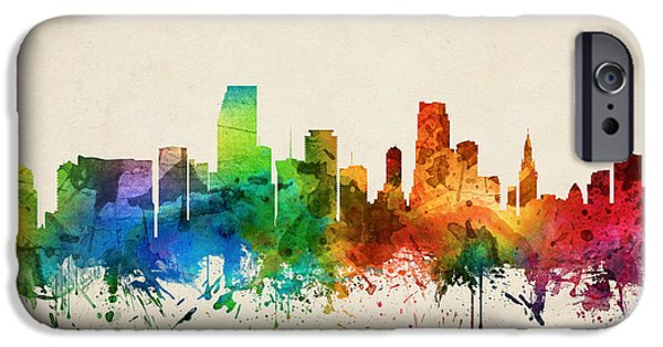 Miami Florida Skyline 05 IPhone 6s Case
