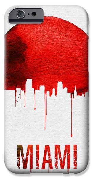 Miami Skyline Red IPhone 6s Case