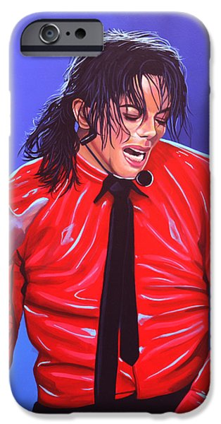 Michael Jackson 2 IPhone 6s Case by Paul Meijering