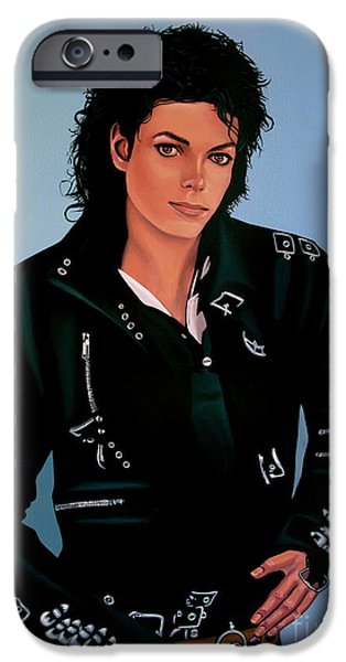 Michael Jackson Bad IPhone 6s Case by Paul Meijering
