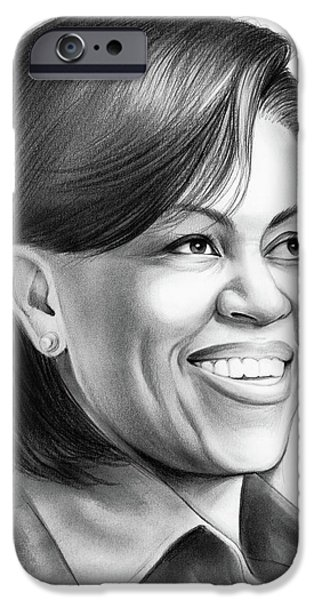Michelle Obama IPhone 6s Case