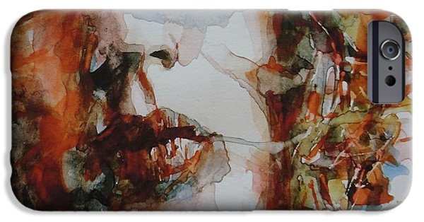 Rolling Stone Magazine iPhone 6s Case - Mick Jagger - Start Me Up  by Paul Lovering