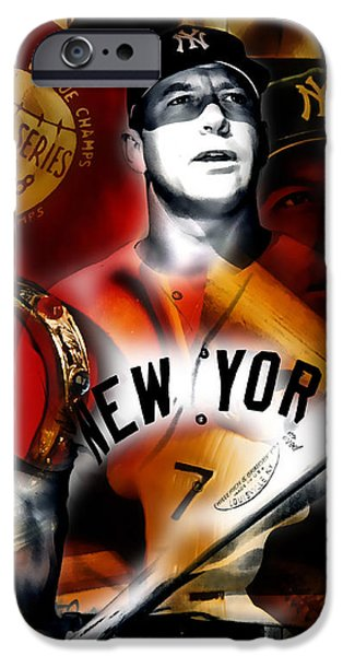 Mickey Mantle Collection IPhone 6s Case