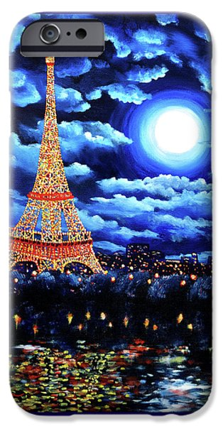 Midnight In Paris IPhone 6s Case by Laura Iverson