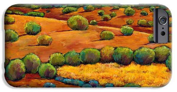 Desert iPhone 6s Case - Midnight Sagebrush by Johnathan Harris