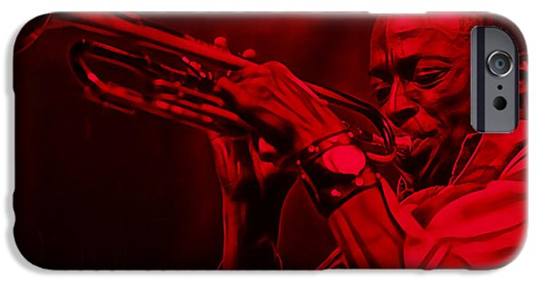 Miles Davis Collection IPhone 6s Case by Marvin Blaine