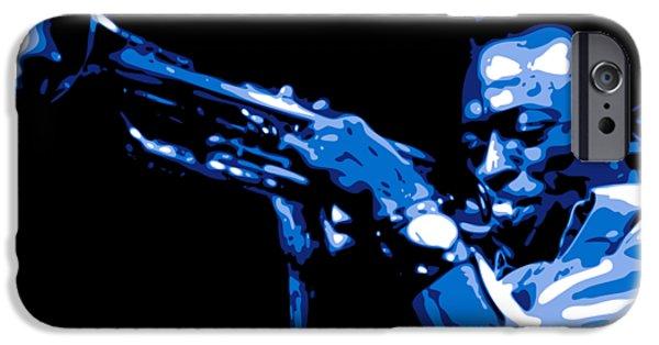 Trumpet iPhone 6s Case - Miles Davis by DB Artist