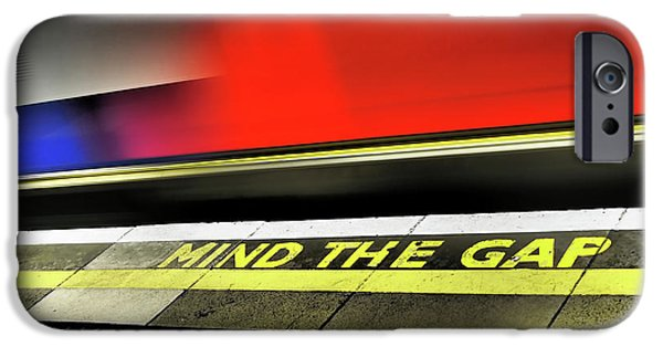 Mind The Gap IPhone 6s Case by Rona Black