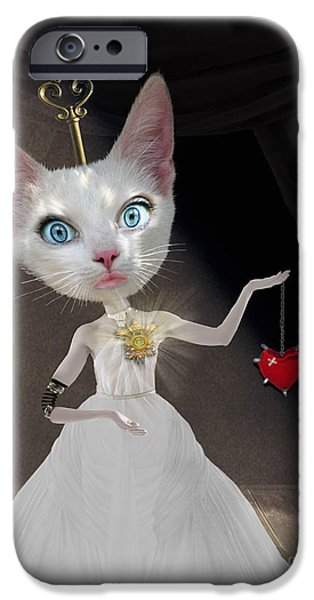 Miss Kitty IPhone 6s Case by Juli Scalzi