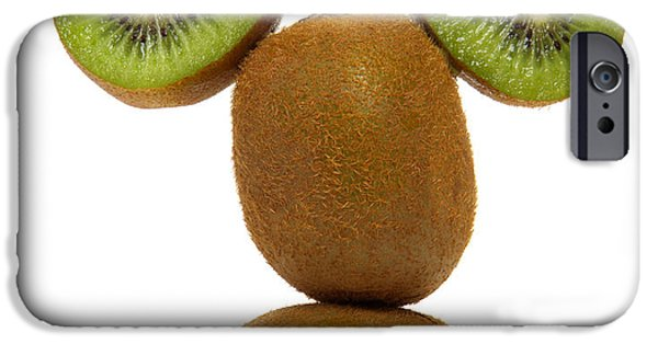 Kiwi iPhone 6s Case - Mister Kiwi by Olivier Le Queinec