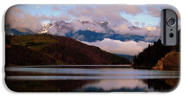 IPhone 6s Case featuring the photograph Misty Mountain Morning by Karen Shackles