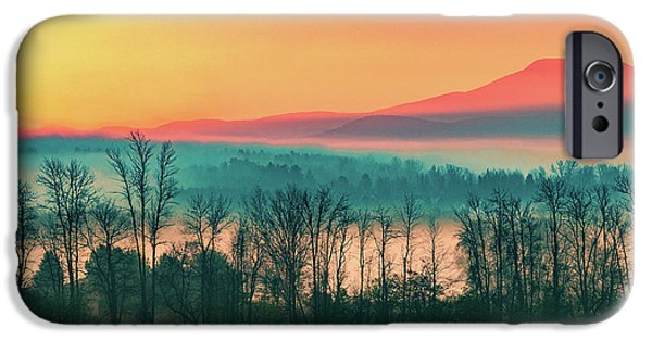 Misty Mountain Sunrise Part 2 IPhone 6s Case by Alan Brown