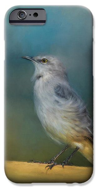 Mockingbird On A Windy Day IPhone 6s Case by Jai Johnson
