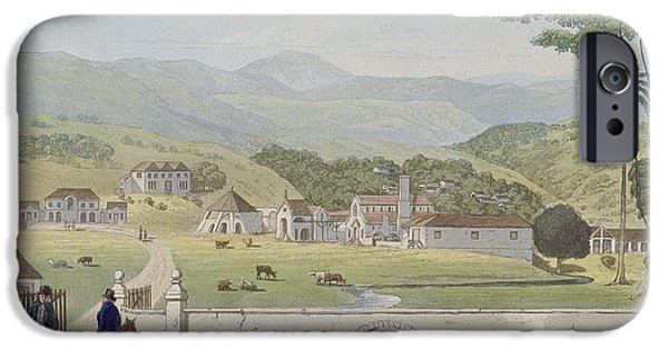 Montpelier Estates - St James IPhone Case by James Hakewill