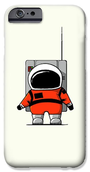 Moon Man IPhone 6s Case by Nicholas Ely