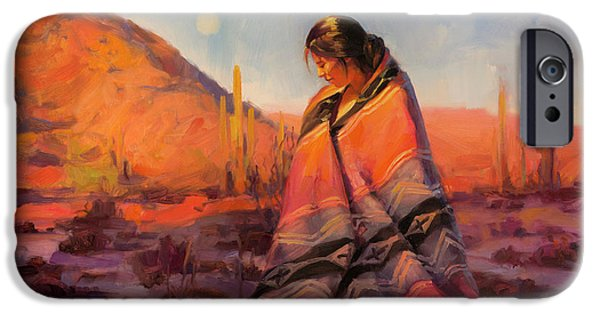 Magician iPhone 6s Case - Moon Rising by Steve Henderson