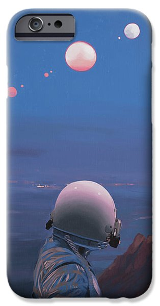 Moons IPhone 6s Case by Scott Listfield