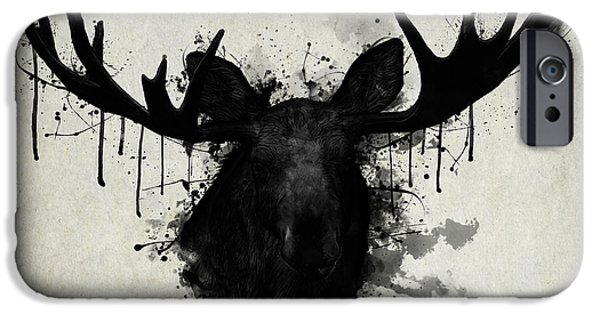 Bull iPhone 6s Case - Moose by Nicklas Gustafsson