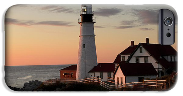 New England Coast iPhone 6s Case - Morning Light by Dan Jordan