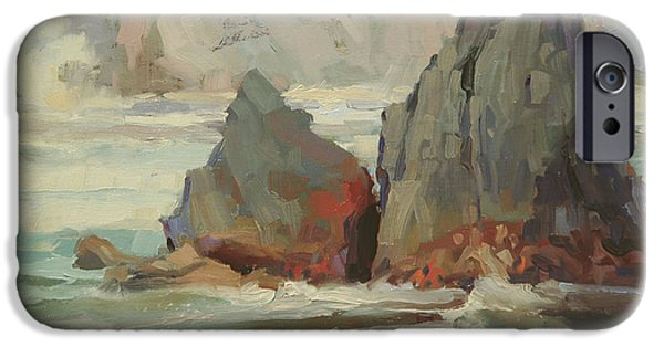 Contemporary Realism iPhone 6s Case - Morning Tide by Steve Henderson