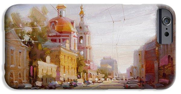Moscow. Staraya Basmannaya Street IPhone 6s Case by Ramil Gappasov