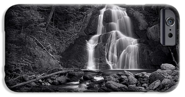 iPhone 6s Case - Moss Glen Falls - Monochrome by Stephen Stookey