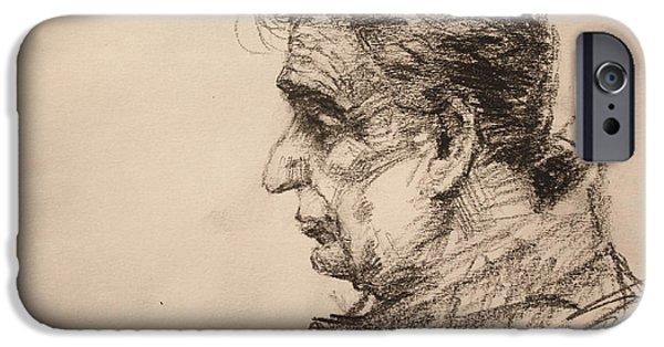 Pencil iPhone 6s Case - mr R by Ylli Haruni