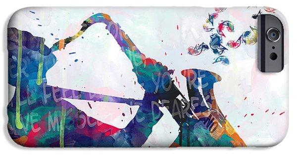 Saxophone iPhone 6s Case - Music  by Mark Ashkenazi