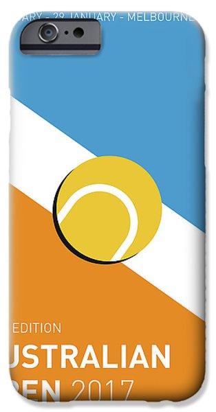 My Grand Slam 01 Australian Open 2017 Minimal Poster IPhone 6s Case by Chungkong Art