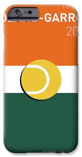 My Grand Slam 02 Rolandgarros 2017 Minimal Poster IPhone 6s Case by Chungkong Art