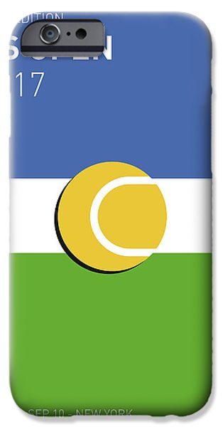 My Grand Slam 04 Us Open 2017 Minimal Poster IPhone 6s Case by Chungkong Art