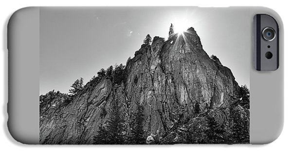 IPhone 6s Case featuring the photograph Narrows Pinnacle Boulder Canyon by James BO Insogna