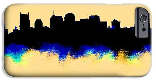 Nashville  Skyline  IPhone 6s Case by Enki Art