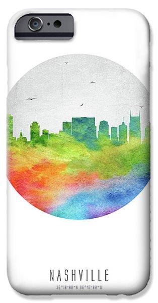 Nashville Skyline Ustnna20 IPhone 6s Case by Aged Pixel