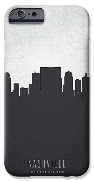 Nashville Tennessee Cityscape 19 IPhone 6s Case by Aged Pixel