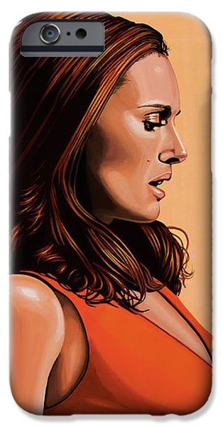 Swan iPhone 6s Case - Natalie Portman 2 by Paul Meijering
