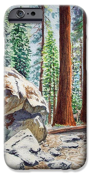 National Park Sequoia IPhone 6s Case
