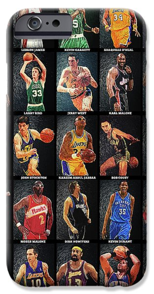 Nba Legends IPhone 6s Case