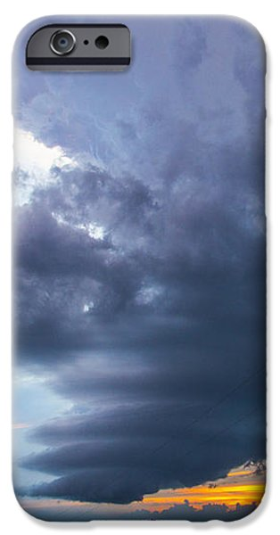 Nebraskasc iPhone 6s Case - Nebraska Supercell 025 by NebraskaSC