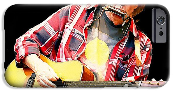 Neil Young IPhone 6s Case by John Malone