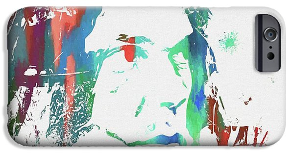 Neil Young Paint Splatter IPhone 6s Case by Dan Sproul